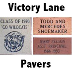 Victory Lane Pavers